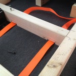Notched frame for Tie Downs
