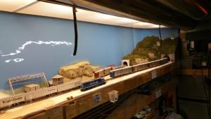 Dust Screen - Model Railroad
